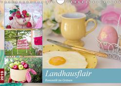 Landhausflair. Romantik im Grünen (Wandkalender 2019 DIN A4 quer) von Hurley,  Rose