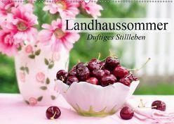 Landhaussommer. Duftiges Stillleben (Wandkalender 2019 DIN A2 quer) von Stanzer,  Elisabeth