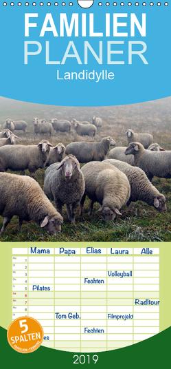 Landidylle 2019 – Familienplaner hoch (Wandkalender 2019 , 21 cm x 45 cm, hoch) von Ehmke ....international ausgezeichneter Fotograf...,  E.