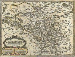 """Landkarte """"Grafschaft Mark"""""""