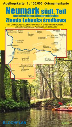 Landkarte Neumark – südlicher Teil von Bloch,  Dirk