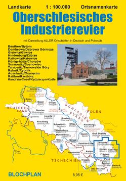 Landkarte Oberschlesisches Industrierevier von Bloch,  Dirk
