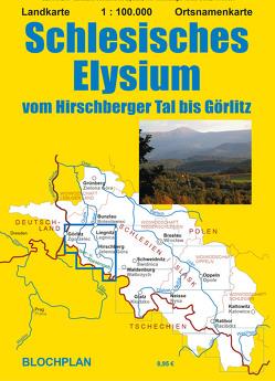 Landkarte Schlesisches Elysium von Bloch,  Dirk
