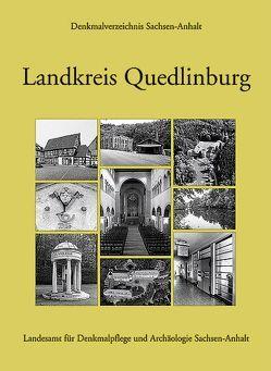 Landkreis Quedlinburg von Gosselke,  Theo, Grubitzsch,  Falko, Korf,  Winfried, Steinecke,  Uwe