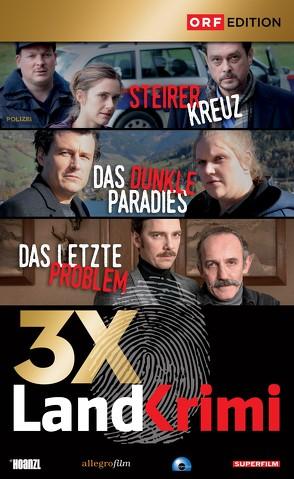 Landkrimi-Set 5: Steirerkreuz/Das dunkle Paradies/Das letzte Problem von Markovics,  Karl, Molina,  Catalina, Murnberger,  Wolfgang