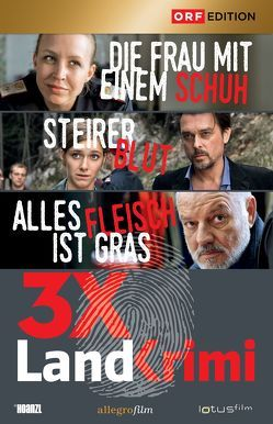 Landkrimi-Set 1 von Bilgeri,  Reinhold, Glawogger,  Michael, Murnberger,  Wolfgang