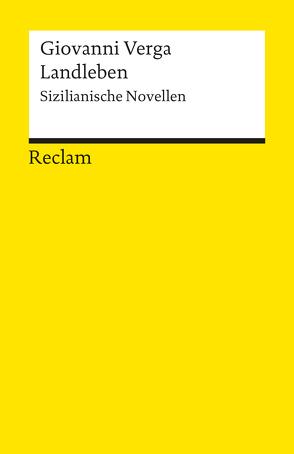 Landleben von Verga,  Giovanni, Zeisel,  Dorothea