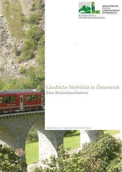 Ländliche Mobilität in Österreich von Tamme,  Oliver