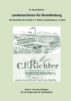 Landmaschinen für Brandenburg von Richter,  Bernd