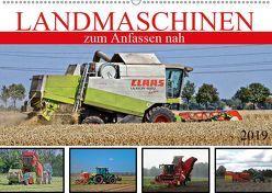 Landmaschinen zum Anfassen nah (Wandkalender 2019 DIN A2 quer) von SchnelleWelten,  k.A.