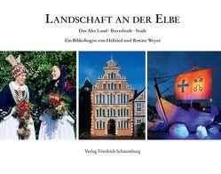 Landschaft an der Elbe von Duwe,  Sebastian, Koller-Duwe,  Heide, Weyer,  Helfried, Weyer,  Renate