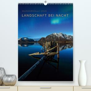 Landschaft bei Nacht (Premium, hochwertiger DIN A2 Wandkalender 2021, Kunstdruck in Hochglanz) von Krotofil,  Raik