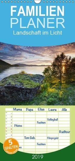Landschaft im Licht – Familienplaner hoch (Wandkalender 2019 <strong>21 cm x 45 cm</strong> hoch) von Mirau,  Rainer