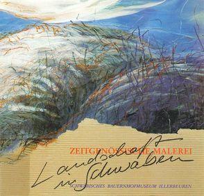 Landschaft in Schwaben – Zeitgenössische Malerei von Kettemann,  Otto, Steuer,  Robert