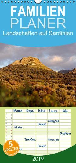 Landschaften auf Sardinien – Familienplaner hoch (Wandkalender 2019 , 21 cm x 45 cm, hoch) von Trapp,  Benny