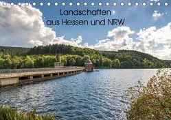 Landschaften aus Hessen und NRW (Tischkalender 2018 DIN A5 quer) von Wege / twfoto,  Thorsten