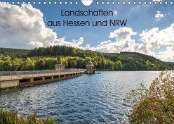 Landschaften aus Hessen und NRW (Wandkalender 2018 DIN A4 quer) von Wege / twfoto,  Thorsten