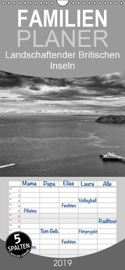 Landschaften der Britischen Inseln – Familienplaner hoch (Wandkalender 2019 , 21 cm x 45 cm, hoch) von Binder,  Konstantin