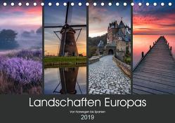 Landschaften Europas (Tischkalender 2019 DIN A5 quer) von Pachula,  Adam