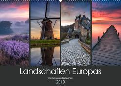 Landschaften Europas (Wandkalender 2019 DIN A2 quer) von Pachula,  Adam
