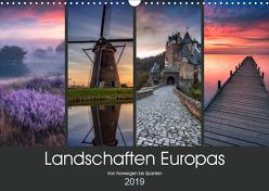 Landschaften Europas (Wandkalender 2019 DIN A3 quer) von Pachula,  Adam