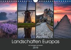 Landschaften Europas (Wandkalender 2019 DIN A4 quer) von Pachula,  Adam
