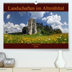 Landschaften im Altmühltal (Premium, hochwertiger DIN A2 Wandkalender 2020, Kunstdruck in Hochglanz) von Rucker,  Michael