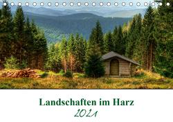 Landschaften im Harz (Tischkalender 2021 DIN A5 quer) von Gierok,  Steffen
