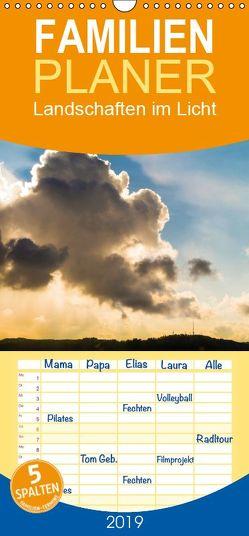 Landschaften im Licht – Familienplaner hoch (Wandkalender 2019 , 21 cm x 45 cm, hoch) von Caccia,  Enrico