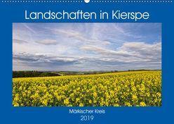 Landschaften in Kierspe (Wandkalender 2019 DIN A2 quer) von / Detlef Thiemann,  DT-Fotografie