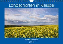 Landschaften in Kierspe (Wandkalender 2019 DIN A4 quer) von / Detlef Thiemann,  DT-Fotografie