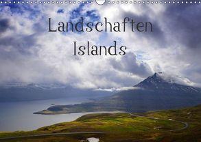 Landschaften Islands (Wandkalender 2018 DIN A3 quer) von Gerken,  Klaus