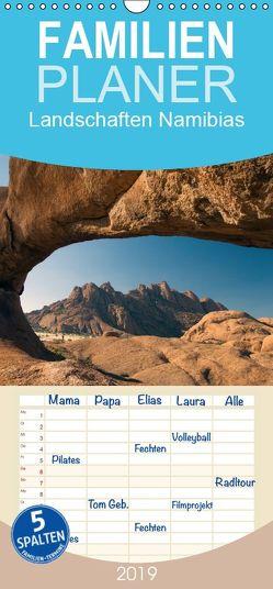 Landschaften Namibias – Familienplaner hoch (Wandkalender 2019 <strong>21 cm x 45 cm</strong> hoch) von Scholz,  Frauke