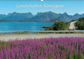 Landschaften Norwegens zwischen Polarkreis und Nordkap (Wandkalender 2018 DIN A2 quer) von Koch,  Hermann