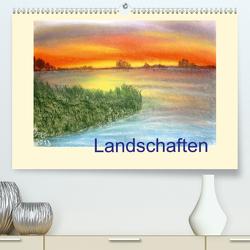 Landschaften (Premium, hochwertiger DIN A2 Wandkalender 2021, Kunstdruck in Hochglanz) von Jopp,  Ingrid