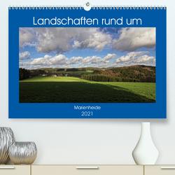 Landschaften rund um Marienheide (Premium, hochwertiger DIN A2 Wandkalender 2021, Kunstdruck in Hochglanz) von / Detlef Thiemann,  DT-Fotografie