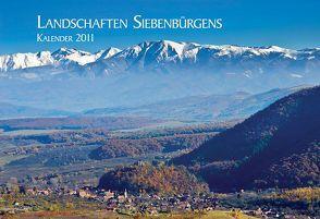 Landschaften Siebenbürgens von Eichler,  Martin
