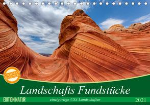 Landschafts Fundstücke (Tischkalender 2021 DIN A5 quer) von Leitz,  Patrick