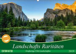 Landschafts Raritäten – Großartige USA Landschaften (Wandkalender 2019 DIN A2 quer) von Leitz,  Patrick