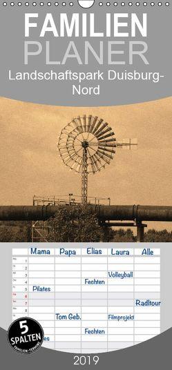 Landschaftspark Duisburg-Nord – Familienplaner hoch (Wandkalender 2019 , 21 cm x 45 cm, hoch) von VB-Bildermacher