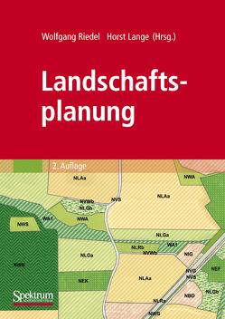 Landschaftsplanung von Lange,  Horst, Riedel,  Wolfgang