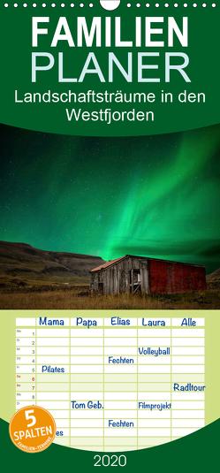 Landschaftsträume in den Westfjorden – Familienplaner hoch (Wandkalender 2020 , 21 cm x 45 cm, hoch) von Gerken,  Klaus