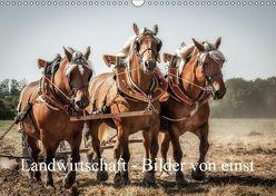 Landwirtschaft – Bilder von einst (Wandkalender 2019 DIN A3 quer) von Gaymard,  Alain
