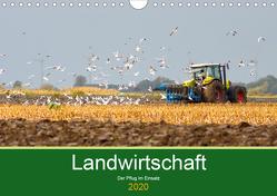 Landwirtschaft – Der Pflug im Einsatz (Wandkalender 2020 DIN A4 quer) von Poetsch,  Rolf
