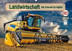 Landwirtschaft – die Zukunft ist digital (Wandkalender 2018 DIN A2 quer) von Roder,  Peter