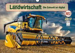Landwirtschaft – die Zukunft ist digital (Wandkalender 2019 DIN A3 quer) von Roder,  Peter