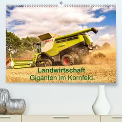 Landwirtschaft – Giganten im Kornfeld (Premium, hochwertiger DIN A2 Wandkalender 2020, Kunstdruck in Hochglanz) von N.,  N.