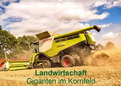 Landwirtschaft – Giganten im Kornfeld (Wandkalender 2021 DIN A2 quer) von N.,  N.