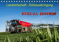 Landwirtschaft – Gülleausbringung (Tischkalender 2021 DIN A5 quer) von Witt,  Simon