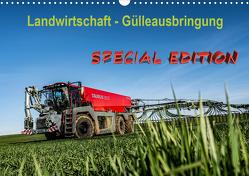 Landwirtschaft – Gülleausbringung (Wandkalender 2021 DIN A3 quer) von Witt,  Simon